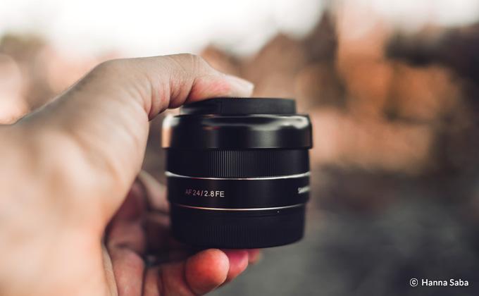 Samyang 森養 AF 24mm F2.8 FE 自動對焦鏡頭 (Sony E 接口) 特徵 - 小巧輕便的設計