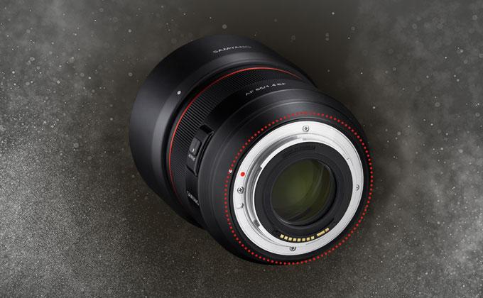 Samyang 森養 AF 85mm F1.4 EF 自動對焦鏡頭 (Canon EF 接口) 特徵 - 針對灰塵及濕氣的強密封性能