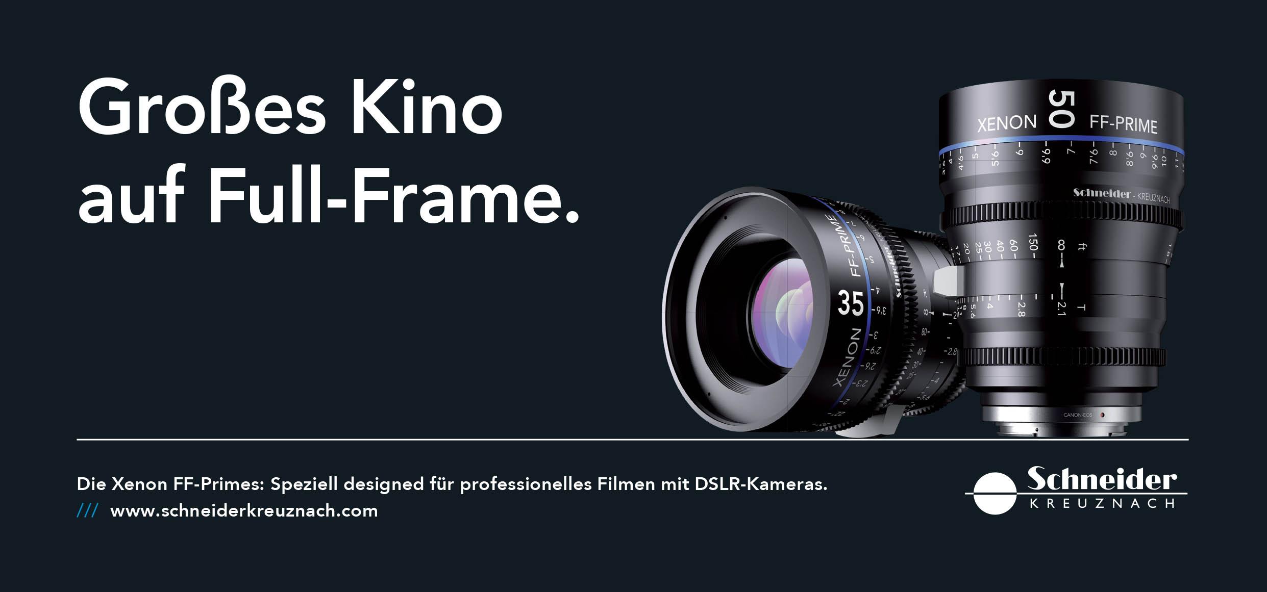 Schneider Kreuznach 施耐德 Xenon FF-Prime Lens 電影鏡頭