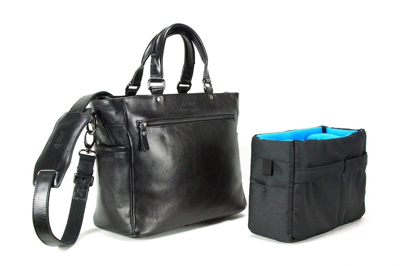 4V Design Tote Camera Bag (ANNA) - Made in Italy