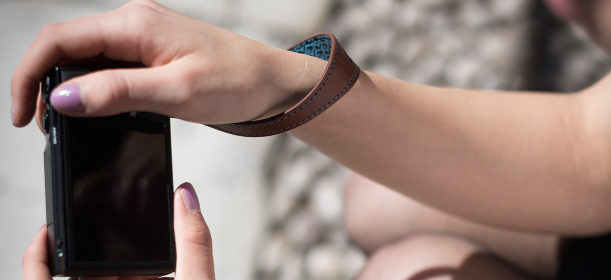 4V Design Camera Wrist Strap (WATCH) - Made in Italy