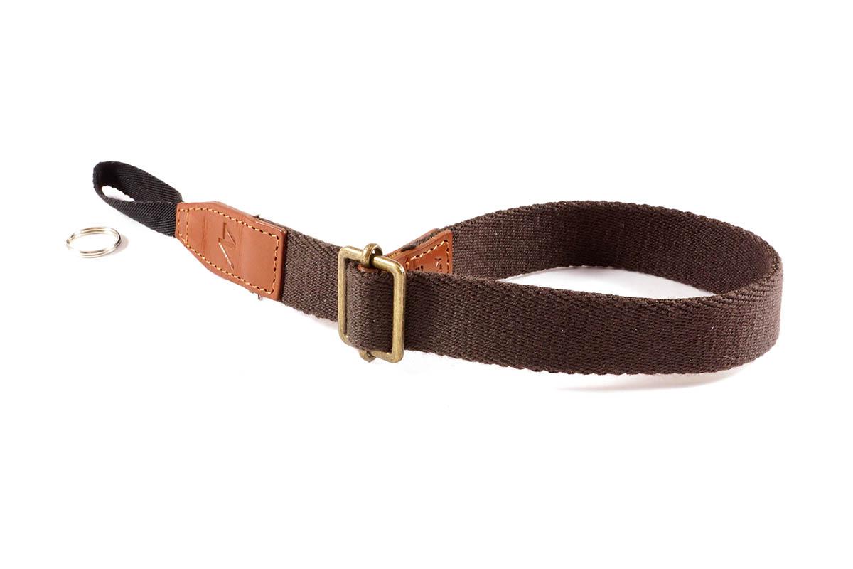 4V Design Camera Wrist Strap (LAZO) - Brown/Brown Color