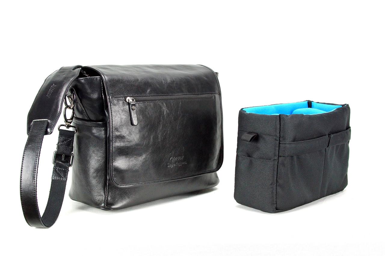 4V Design Camera Messenger Bag (SIMO) - Made in Italy