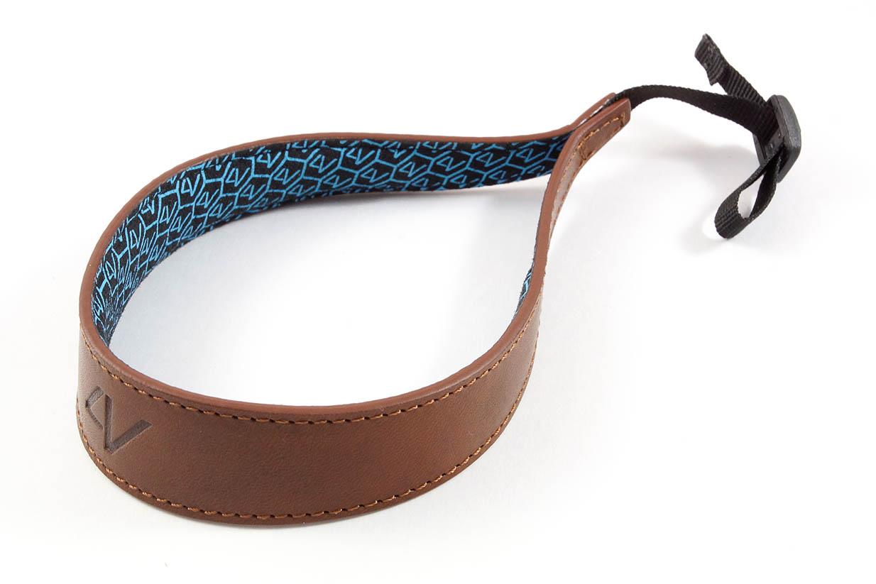 4V Design Camera Wrist Strap (ERGO) - Brown/Brown Color