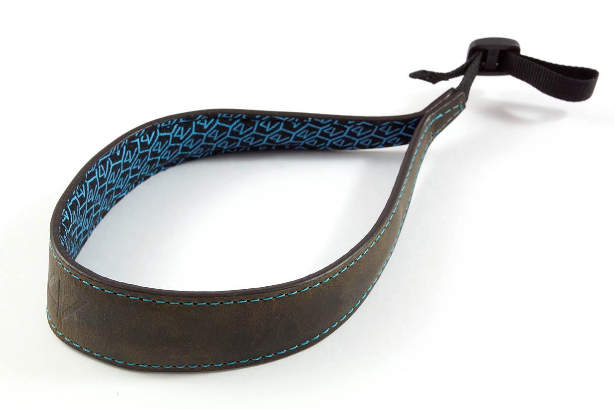 4V Design Camera Wrist Strap (ERGO) - Washed Green/Cyan Color