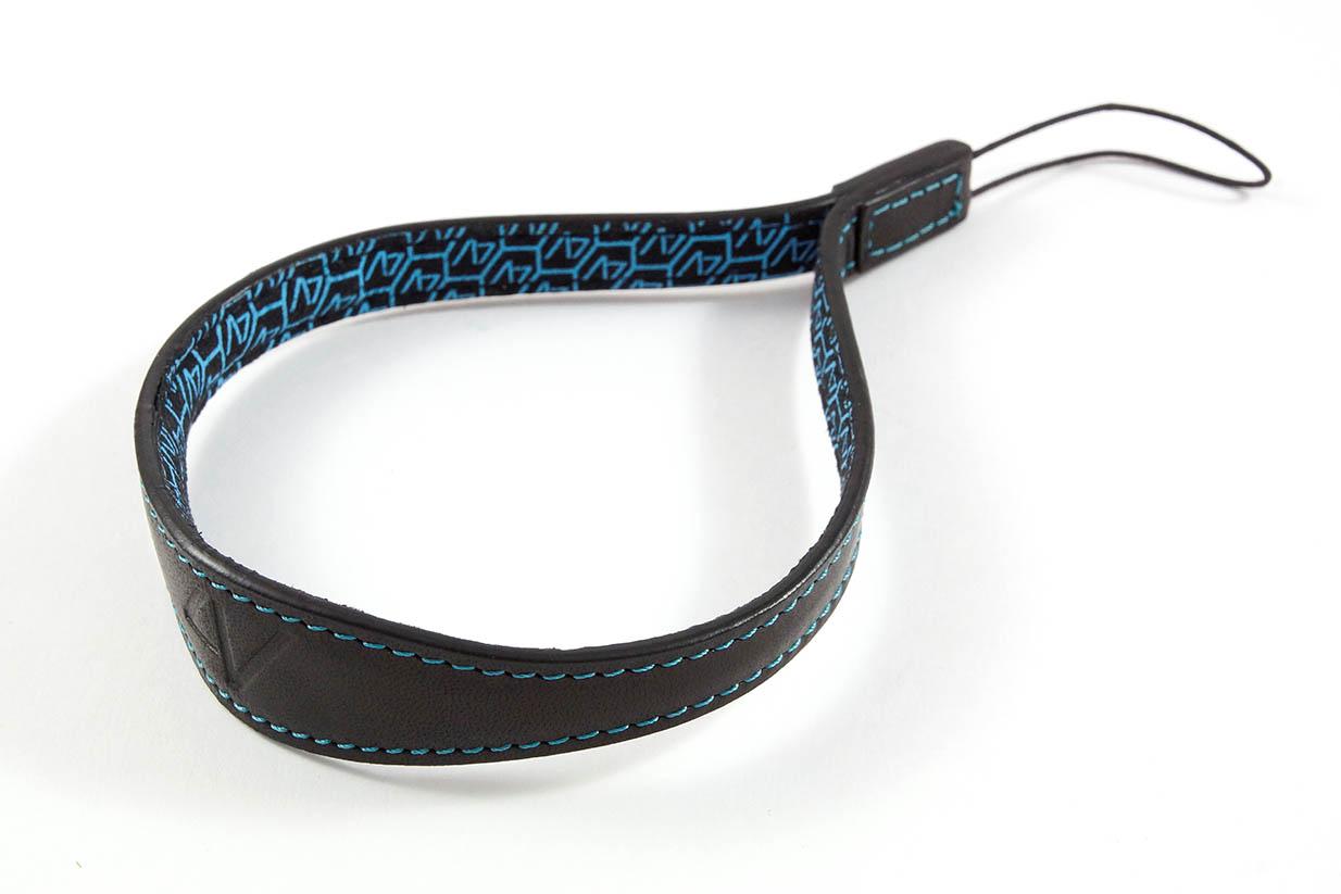 4V Design Camera Wrist Strap (WATCH) - Black/Cyan Color