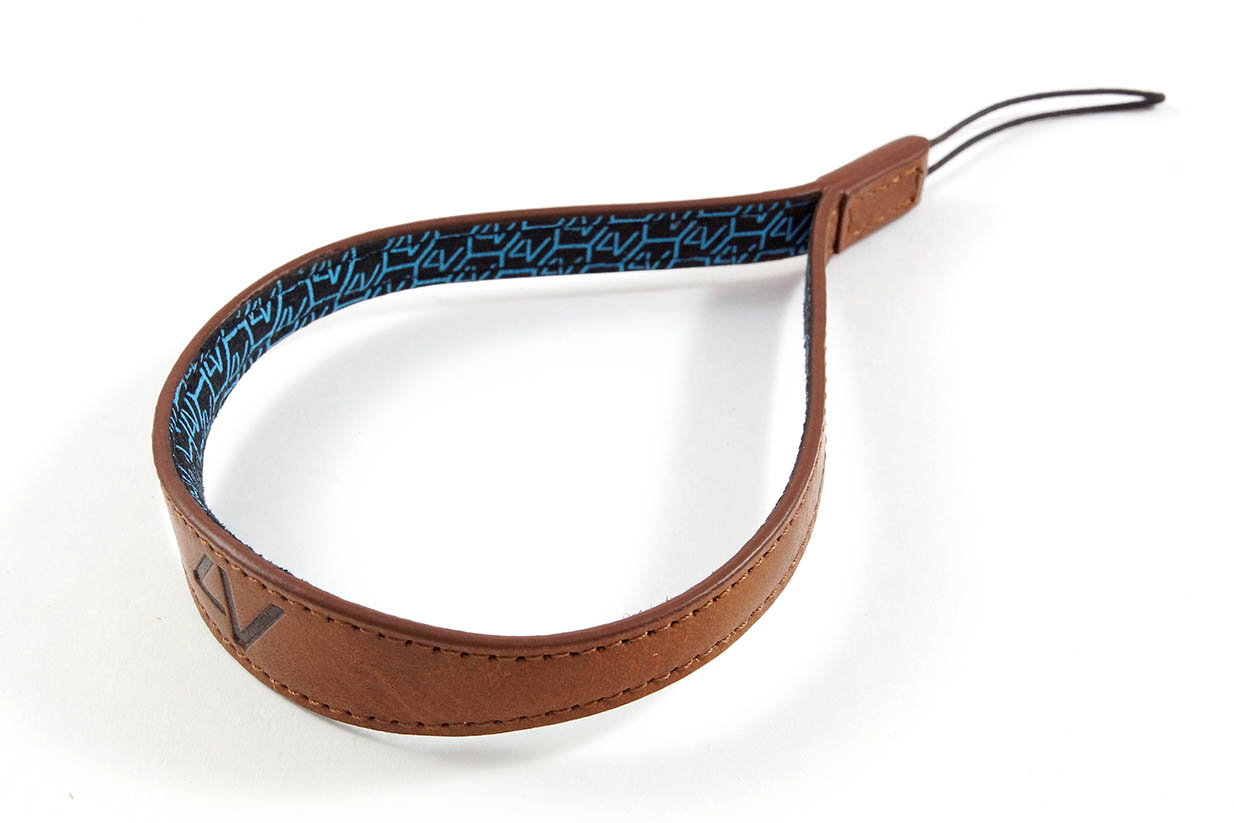 4V Design Camera Wrist Strap (WATCH) - Brown/Brown Color