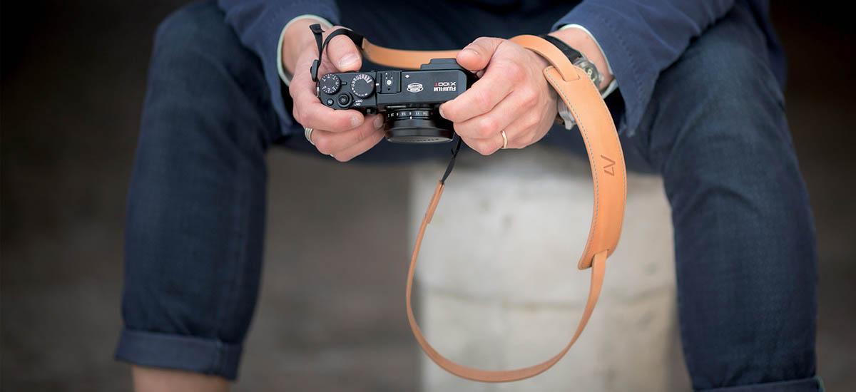 4V Design Camera Neck Strap (CLASSIC LARGE & MEDIUM) - Made in Italy