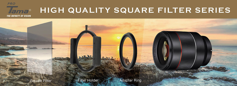 ProTama 天馬 (SQ-100) HD 高清方形濾鏡系列及配件 - 德國光學玻璃