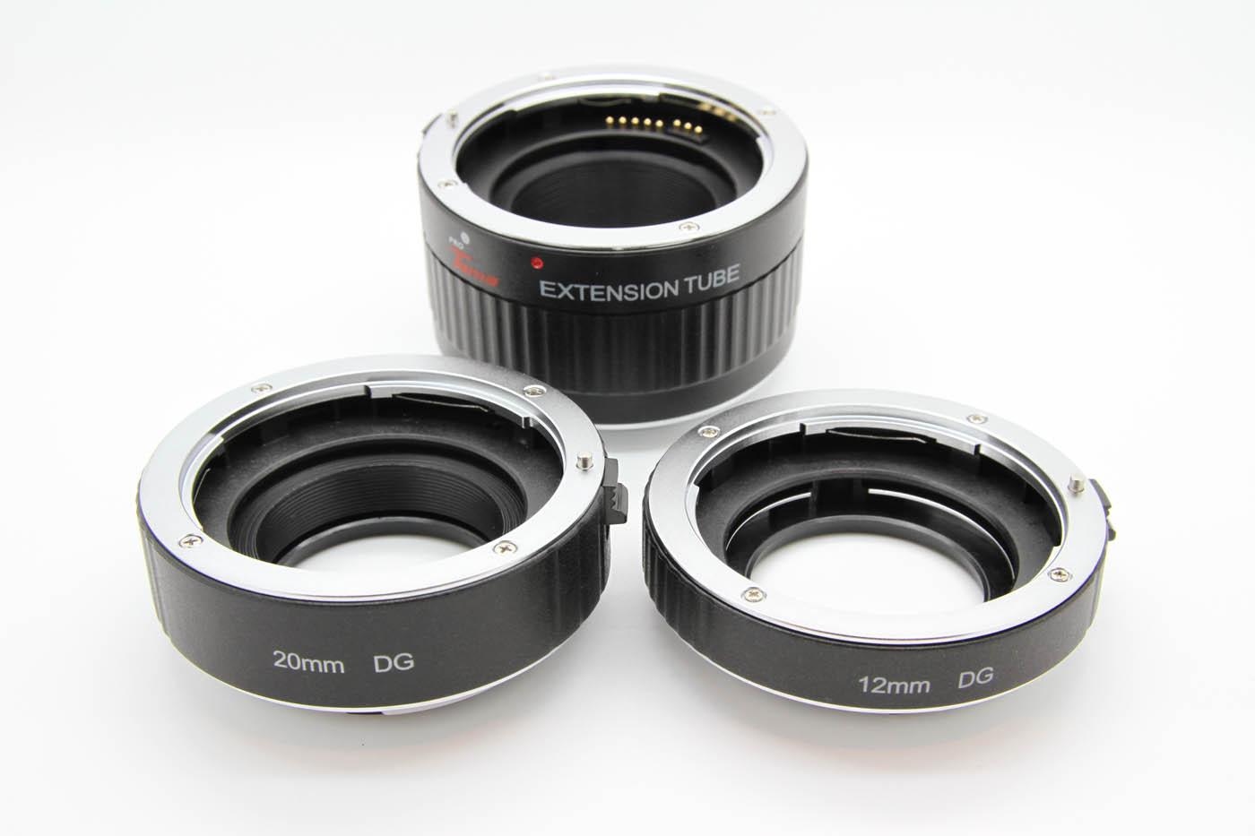 ProTama Auto Focus Macro Extension Tube Set DG-C (For Canon EOS EF/EFS Lens) - 3 Tubes
