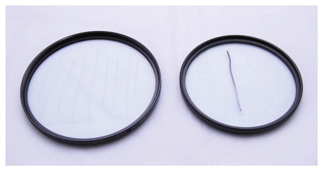 ProTama 天馬 EX-08 超薄高清納米多層鍍膜 MC UV 濾鏡 (大口徑) - 防油測試