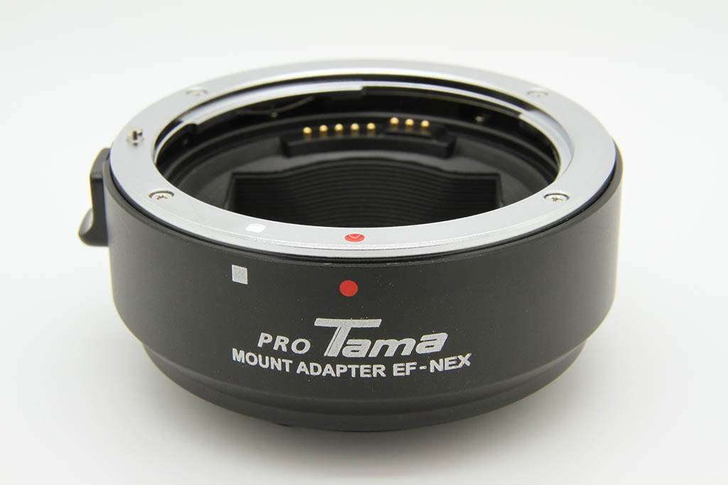 ProTama AF Mount Adapter (For Canon EOS EF/EF-S Lenses to Sony E-mount Camera) - Photo