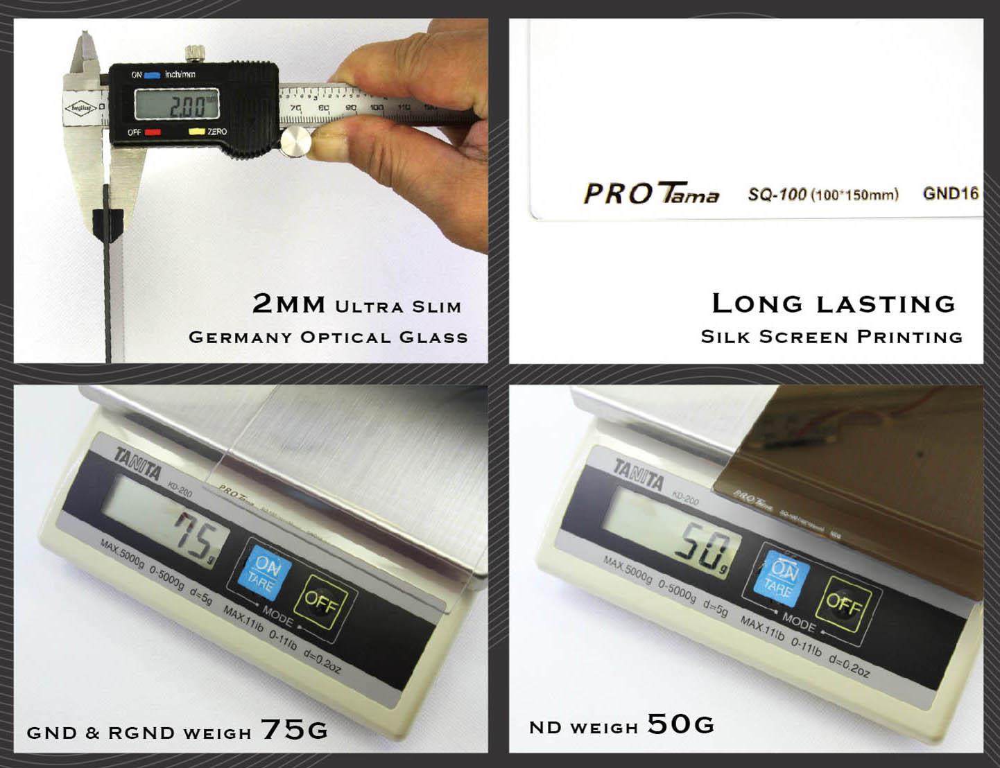 ProTama (SQ-100) Square Filter - Description