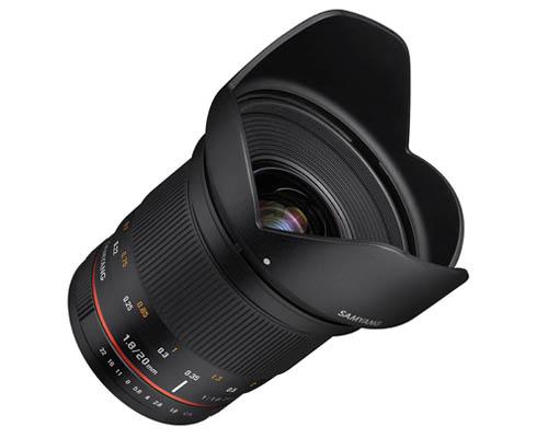 Samyang 20mm F1.8 Lens