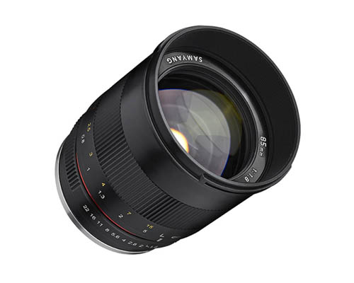 Samyang 85mm F1.8 ED UMC CS Lens