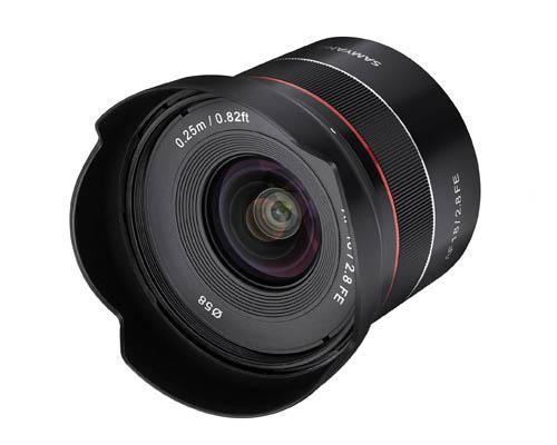 Samyang AF 18mm F2.8 FE Auto Focus Lens for Sony E