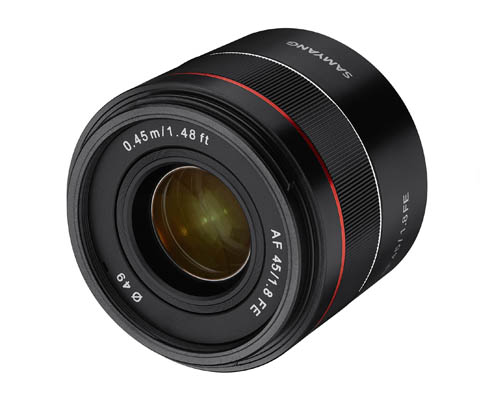 Samyang 森養 AF 45mm F1.8 FE 自動對焦鏡頭 (Sony E 接口)
