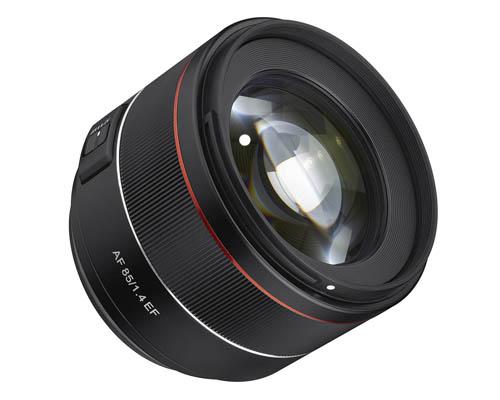Samyang AF 85mm F1.4 EF Lens For Canon EF