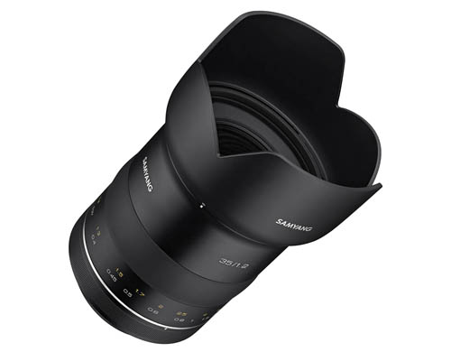 Samyang XP 35mm F1.2 Lens For Canon EF