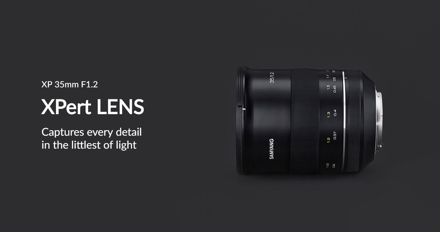Samyang Premium XP 35mm F1.2 Lens - Captures every detail in the littlest of light