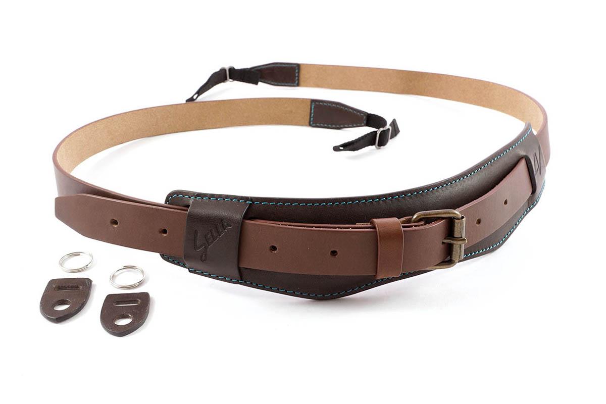 4V Design Camera Neck Strap (SELLA) - Coffee/Brown Color