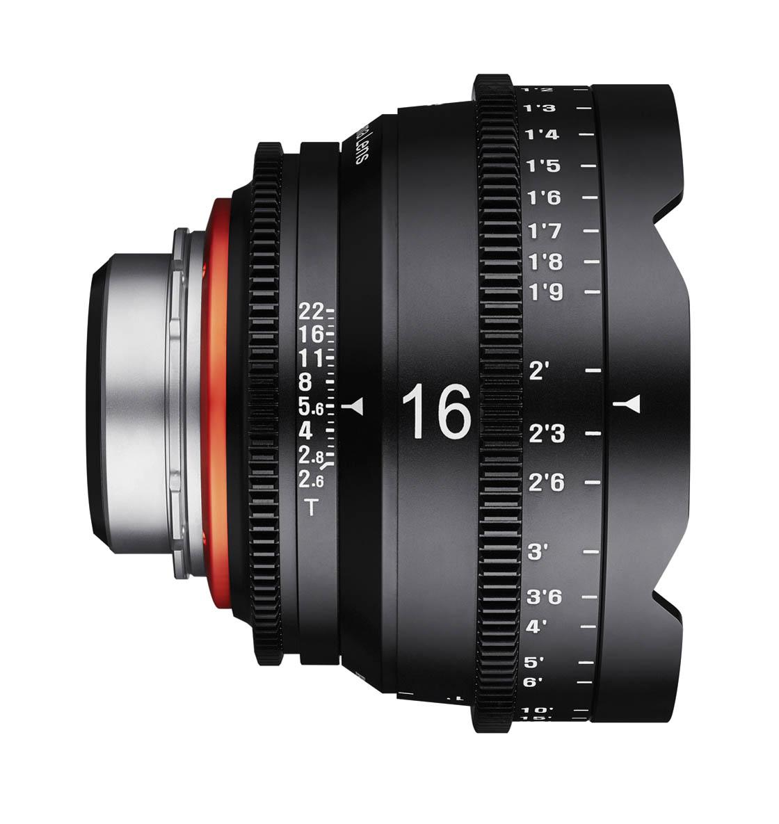 16mm T2.6