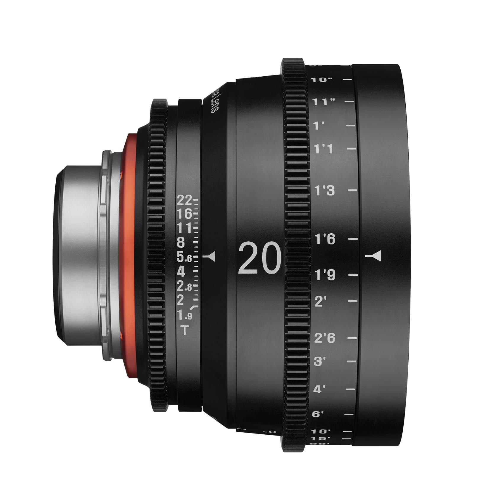 20mm T1.9