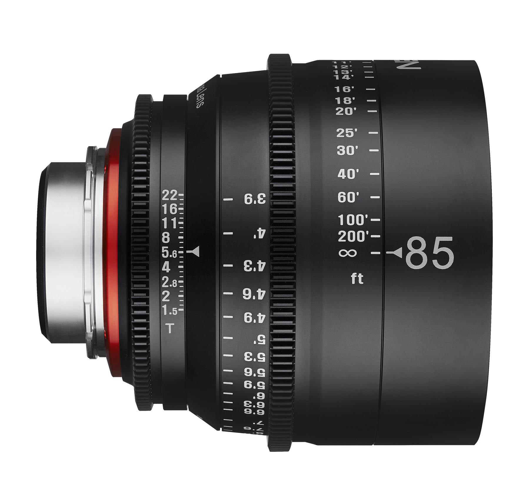 85mm T1.5