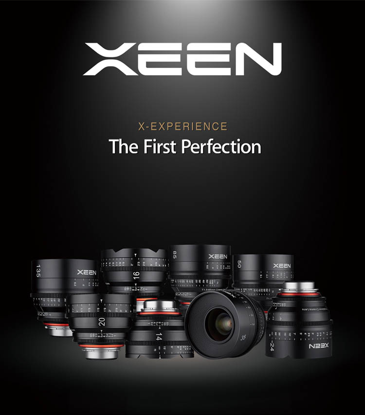 XEEN Lens Group - The First Perfection