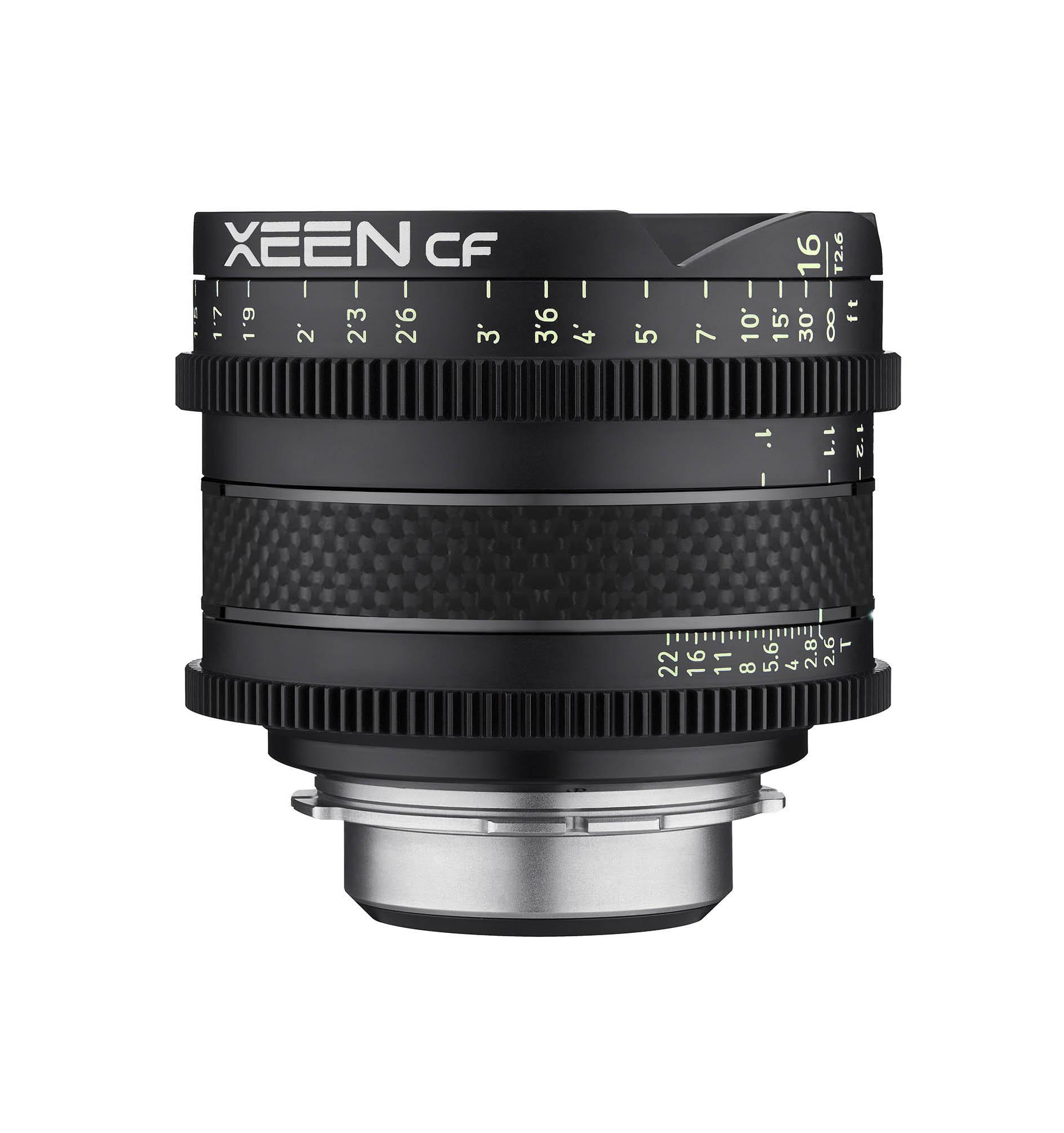 Xeen CF 16mm Front