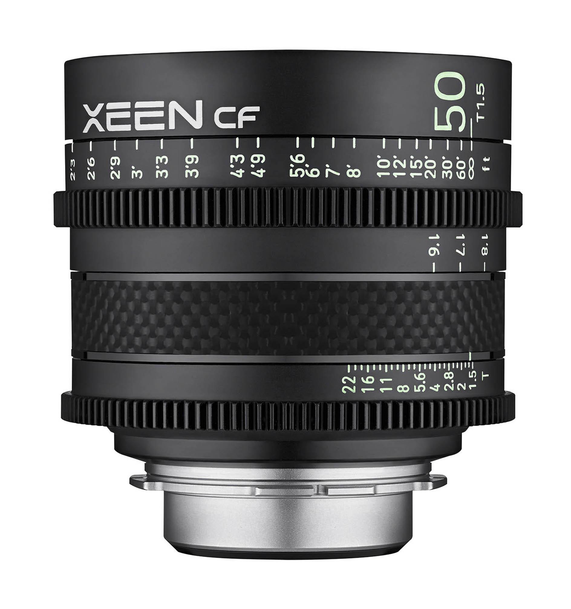 Xeen CF 50mm Front